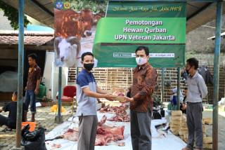 Animal Sacrifices at UPNVJ Celebrating Eid al-Adha 1441 Hijriah