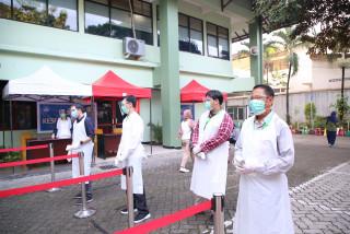 Penyebaran Covid-19 Meningkat, Protokol Kesehatan Diperketat Pada Hari kelima UTBK UPN Veteran Jakarta