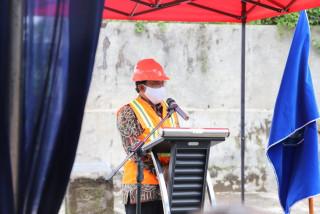 Peletakan Batu Pertama Pembangunan Gedung FK UPNVJ Dihadiri Langsung Oleh Direktur Sumber Daya Ditjen Dikti