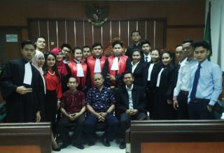 Mahasiswa Fakultas Hukum UPN Veteran Jakarta Juara II Lomba Peradilan Semu Anti Money Laundring Tingkat Nasional