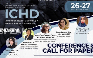 International Conference on Health Development series 2 FIKES UPNVJ