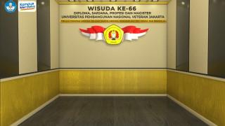 Background Wisuda ke - 66 UPNVJ
