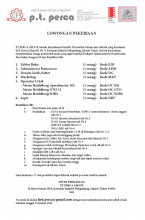 Lowongan PT. Perca Percetakan Offset dan Penerbit