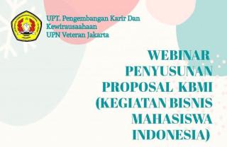 Masa Pandemi Tak Halangi Semangat Wirausaha Muda, UPNVJ Gelar Workshop Penyusunan Proposal KBMI 2020