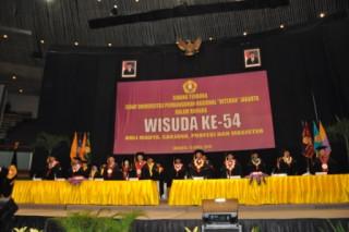 UPACARA WISUDA KE 54 PROGRAM DIPLOMA III, SARJANA, PROFESI & MAGISTER SEMESTER GANJIL TA.2014/2015