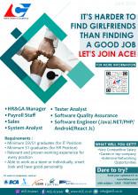 PT Adicipta Carsani Ekakarya (ACE) Jakarta Membuka Lowongan Pekerjaan khusus untuk Alumni FIK