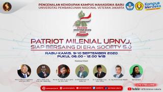 UPNVJ Melaksanakan PKKMB 2020 Secara Online