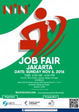 JOB FAIR JAKARTA 6 NOVEMBER 2016