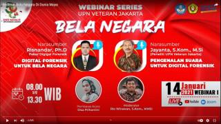 Bela Negara Webinar Series UPNVJ dengan Tema