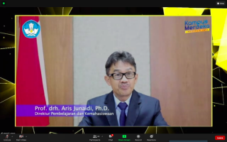 Harapan Direktur Pembelajaran dan Kemahasiswaan Kemendikbud untuk Lulusan UPNVJ dalam Wisuda ke-66 UPNVJ