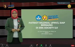 Rektor: Mahasiswa UPNVJ Wajib Berjiwa Bela Negara