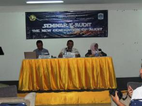 "SEMINAR E-AUDIT THE NEW GENERATION OF AUDIT HMJ S1 - AKUNTANSI UPN ""VETERAN"" JAKARTA"