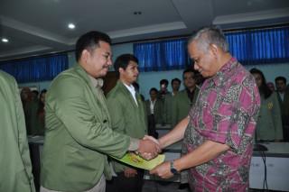 "SERAH TERIMA JABATAN dan PELANTIKAN MAJELIS PERMUSYAWARATAN MAHASISWA (MPM) Serta BADAN EKSEKUTIF MAHASISWA (BEM) UPN ""VETERAN"" JAKARTA"