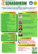 Informasi Seminar Nasional Pengabdian Kepada Masyarakat, SENABDIKOM 2021