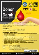 Donor Darah Terbuka Dalam Rangka Dies Natalis FEB UPN Veteran Jakarta ke 27