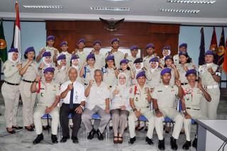 PELANTIKAN DAN SERAH TERIMA JABATAN KOMANDAN SATUAN RESIMEN MAHASISWA UPNV JAKARTA