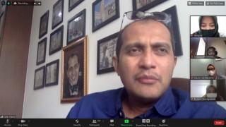 Kuliah Umum Magister Hukum UPN Veteran Jakarta Hadirkan  Prof. Edward OS Hiariej, SH, MHum Guru Besar Hukum Pidana UGM Yogyakarta