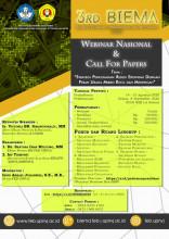 Call For Papers Seminar Nasional BIEMA 2020