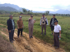 "Rektor UPN ""Veteran"" Jakarta ke Tanjungsari   Tinjau Lahan"