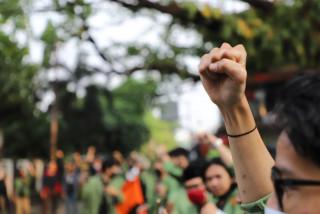 Tanggapi Aksi Mahasiswa, UPNVJ Lakukan Audiensi