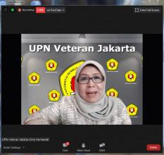 Fakultas Kedokteran UPN Veteran Jakarta dan IDI Kembali Menyelenggarakan International Webinar 2020 series ke 5