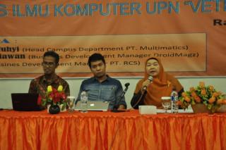 "SEMINAR  MOBILE COMPUTING IS CONNECTING THE WORLD FAKULTAS ILMU KOMPUTER UPN ""VETERAN"" JAKARTA"