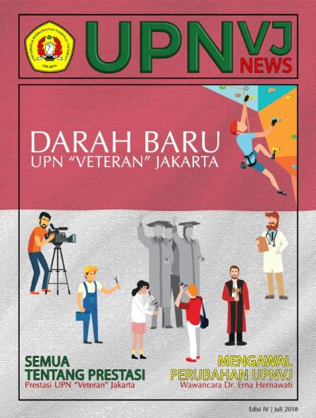 Majalah UPNVJ News Edisi Juli 2018 - Darah Baru UPN