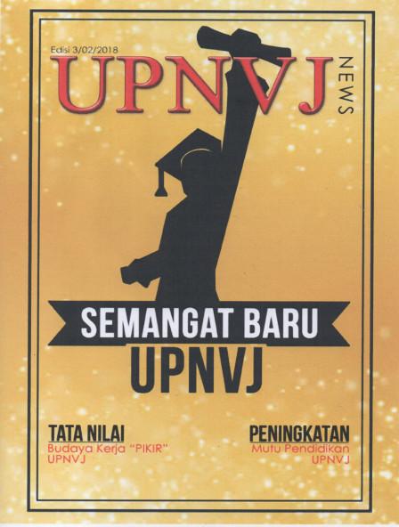 Majalah UPNVJ News Maret 2018