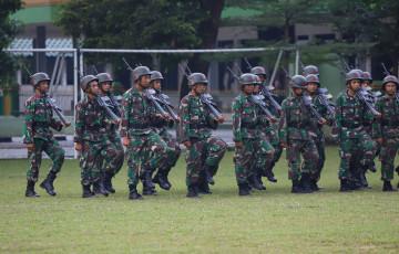 Wakil Rektor 3 UPNVJ Pantau 27 Pasukan Komcad