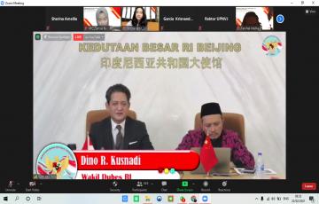 Jalin Kerjasama dengan KBRI Tiongkok, FISIP UPNVJ Gelar Seminar Nasional