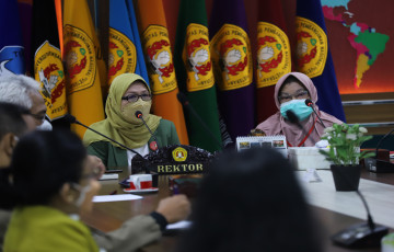 UPNVJ Laksanakan Exit Meeting Hasil Pemeriksanaan Laporan Keuangan oleh Itjen Kemendikbudristek