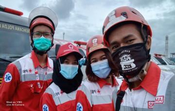 KSR PMI UPNVJ Terjun Langsung Bantu Tim SAR dalam Tragedi Kecelakaan Pesawat Sriwijaya Air SJ-182